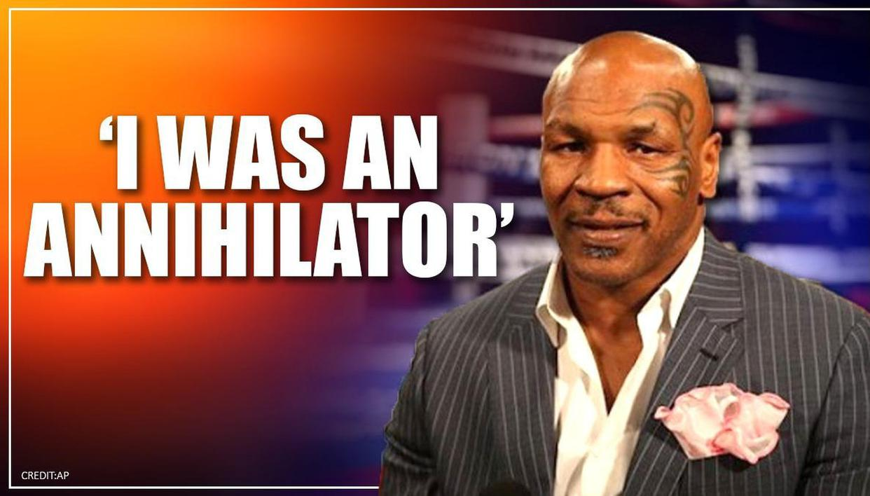 Mike Tyson cries, says he's 'empty' after boxing retirement