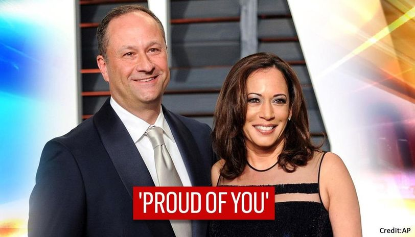 Proud Of You Kamala Harris Husband Wishes Madam Vice President Elect On Historic Win