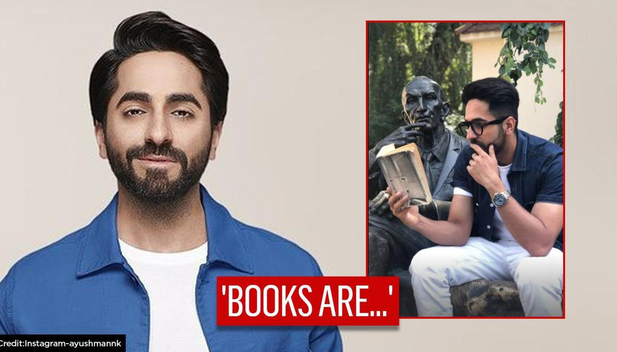 'World Book Day': Ayushmann Khurrana pens thoughts on essence of books, shares old picture