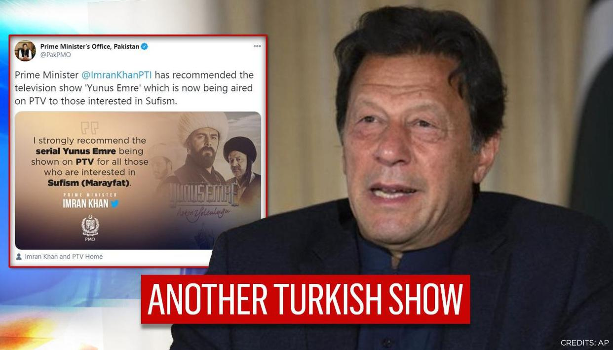 Amid growing Pakistan-Turkey bonhomie, Imran Khan recommends yet another Turkish TV show