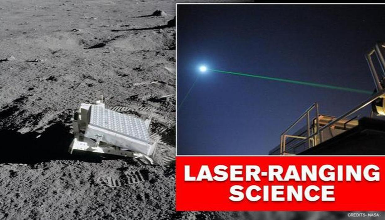 NASA says laser beams reflected between Earth and Moon, could enhance experiments - Republic World