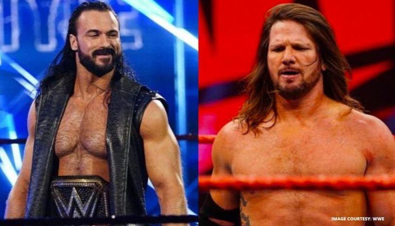 AJ Styles and Drew McIntyre
