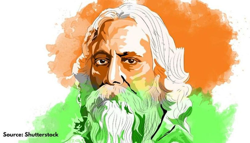 rabindranath tagore jayanti wishes in hindi