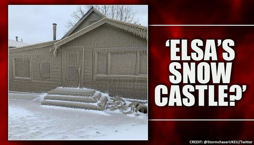 New York homes turn into igloos overnight, look like 'Elsa's snow castle'