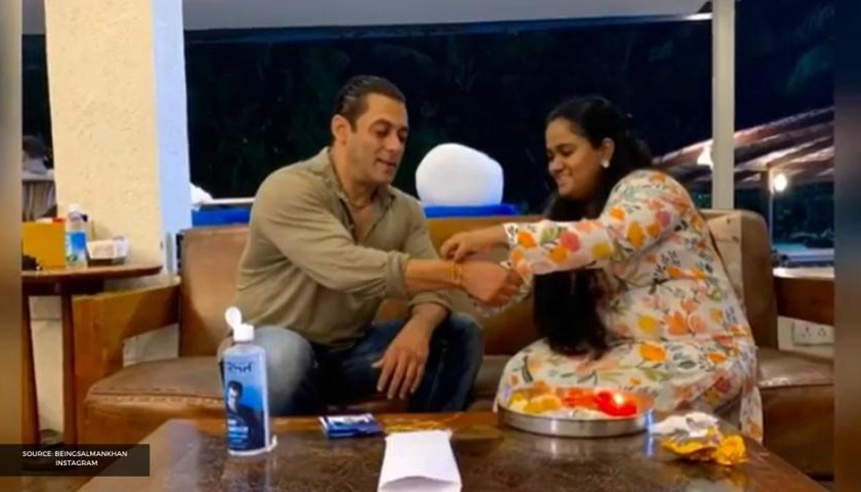 Salman Khan shares Raksha Bandhan video featuring his sisters, brothers, nieces & nephews - Republic World