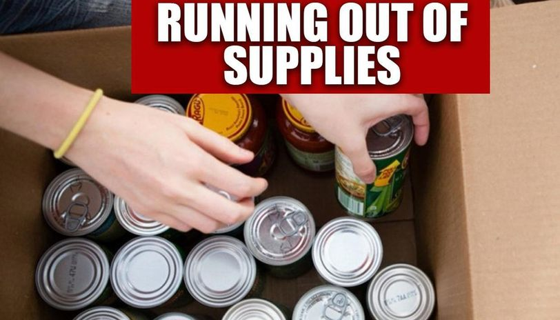 UK: Food banks across country low on supplies