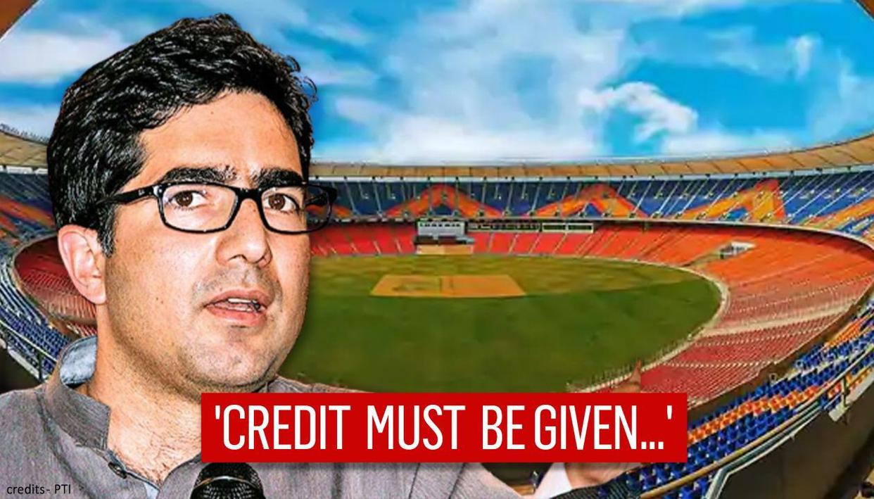 Shah Faesal says credit a must where credit is due amid row over Narendra Modi Stadium - Republic TV