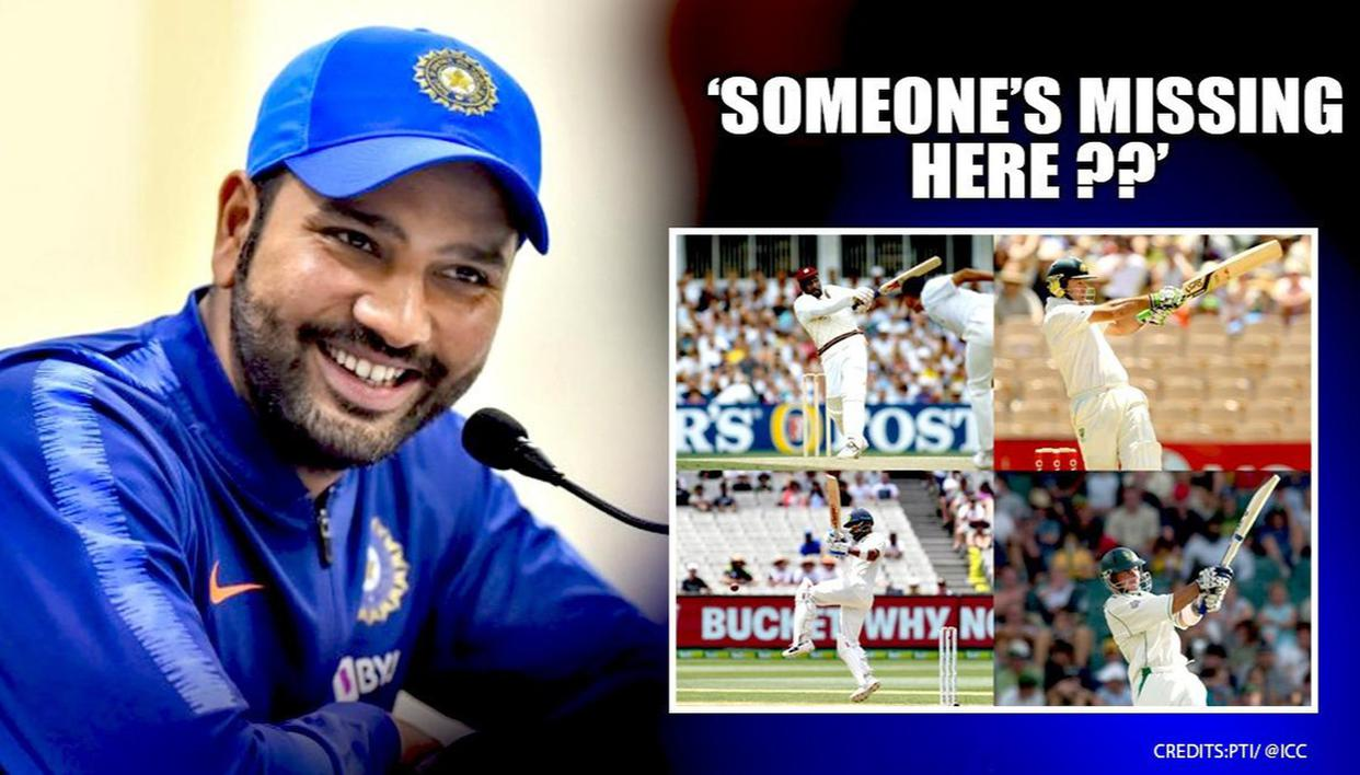 ICC Asks Fans Who Has the Best Pull Shot, Rohit Sharma Responds