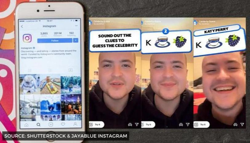 what is the guess the celebrity instagram filter