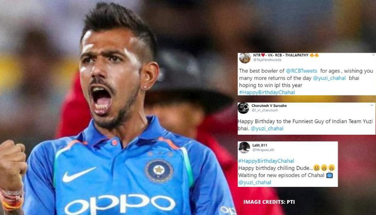 Yuzvendra Chahal gets comical and emotional wishes alike for 30th ...