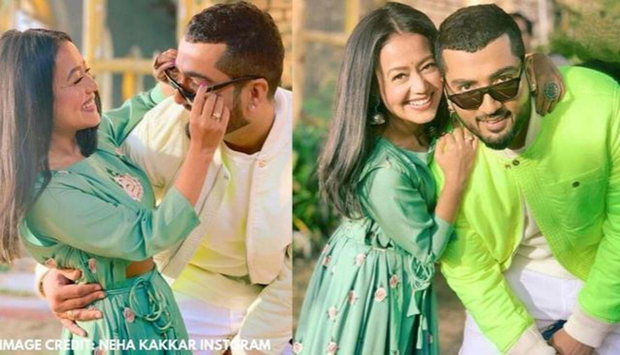 Neha Kakkar Looks Adorable With Jaani In Her Latest Instagram Post See Pics Republic World