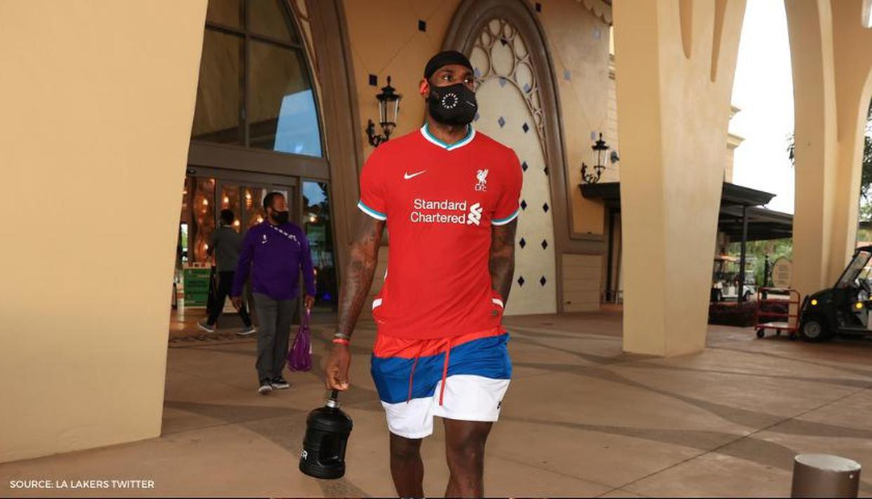 LeBron James shows up in new Liverpool gear ahead of OKC Thunder game - Republic World