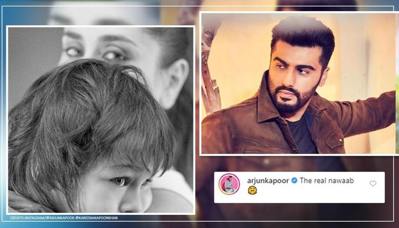 Arjun Kapoor loses cool at abusive troll for 'real nawaab' comment on Kareena-Taimur's pic
