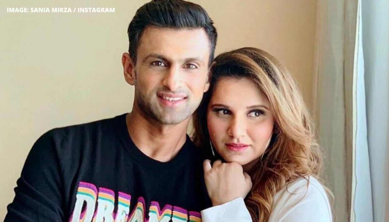Sania Mirza asks husband Shoaib Malik to bring his 'A game' for virtual date on Saturday - Republic World