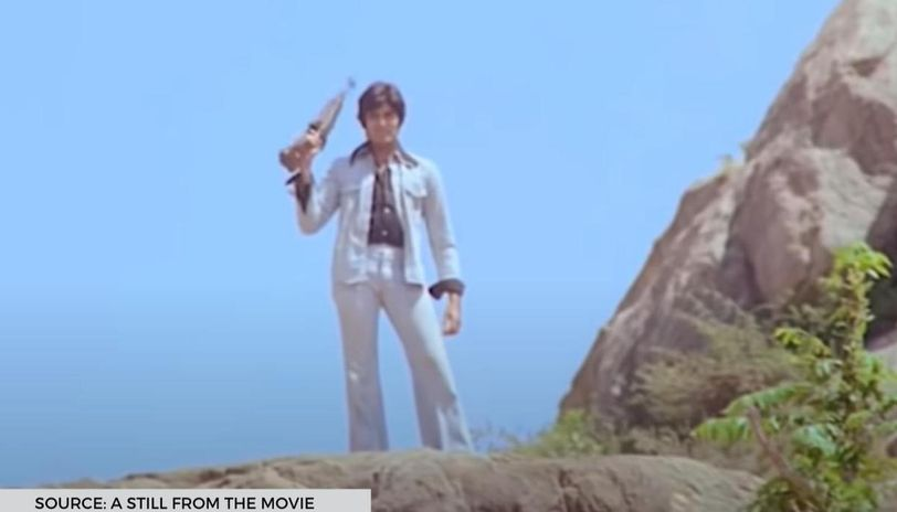 sholay shooting location
