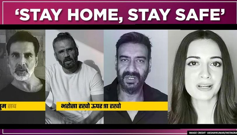 Bollywood stars unite for anthem 'Stay Home Stay Safe', urge to follow social distancing