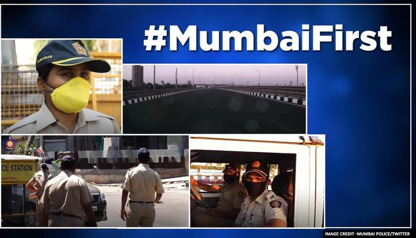Mumbai Police shares what they had done had they been home amid COVID-19 lockdown