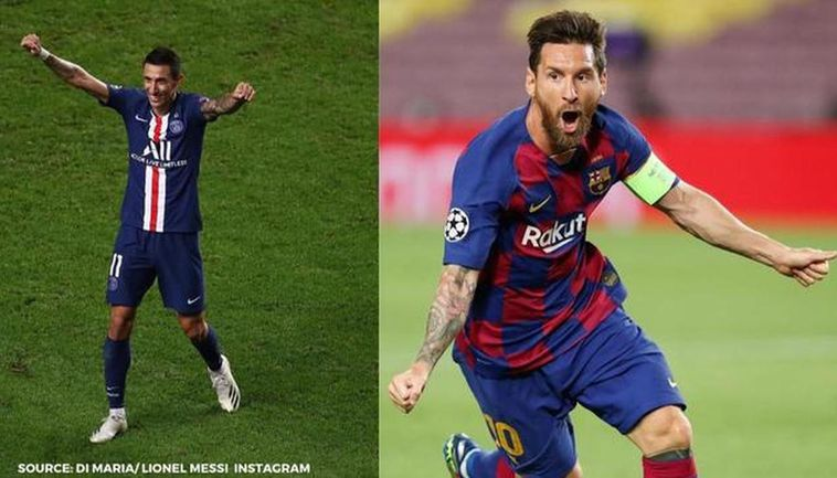 How Di Maria Tried To Persuade Lionel Messi To Join Psg On Bumper Deal Via Texts