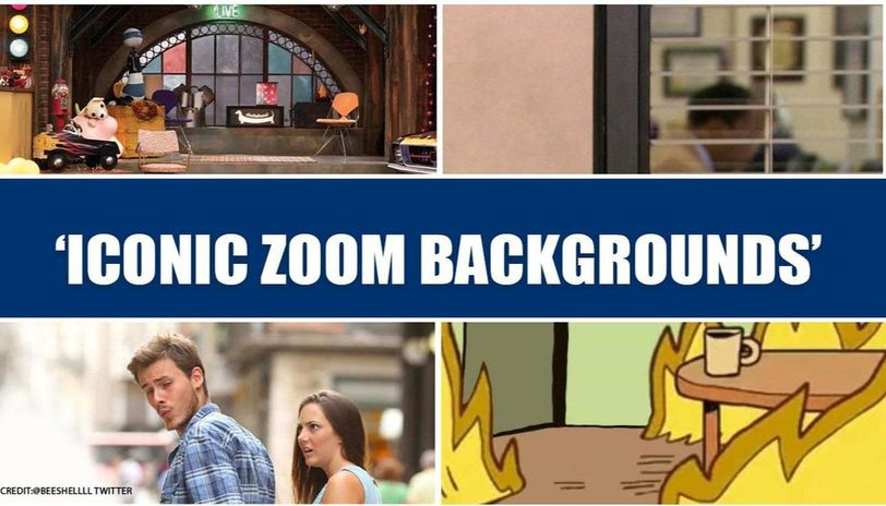 Netizens Suggest Creative Zoom Background As Video Conferencing