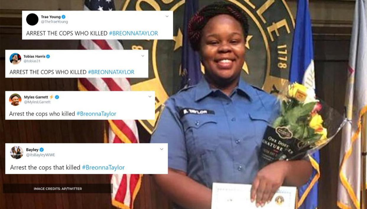 Nba Nfl Stars Demand The Arrest Of Cops Who Killed Breonna Taylor Republic World
