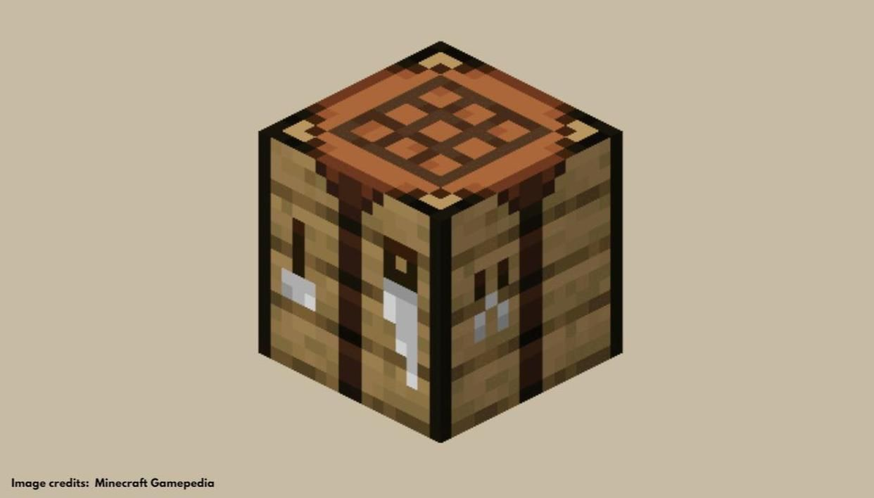 How to make crafting table in Minecraft to build more complex items?