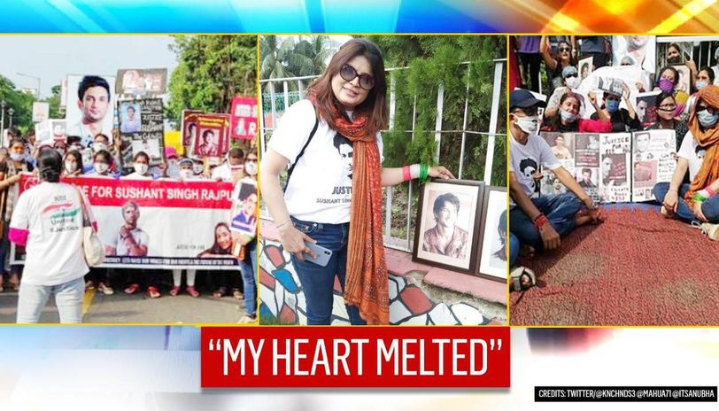 Sushant Singh Rajput's friend Smita gets emotional about Kolkata rally, says city 'roared'