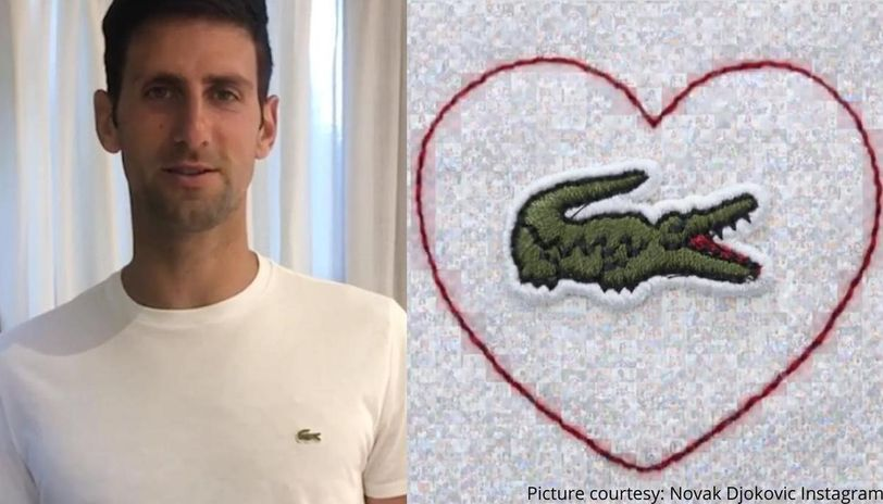 Novak Djokovic Stars In Lacoste Ad With Heartwarming Message For Covid 19 Warriors Watch Republic World