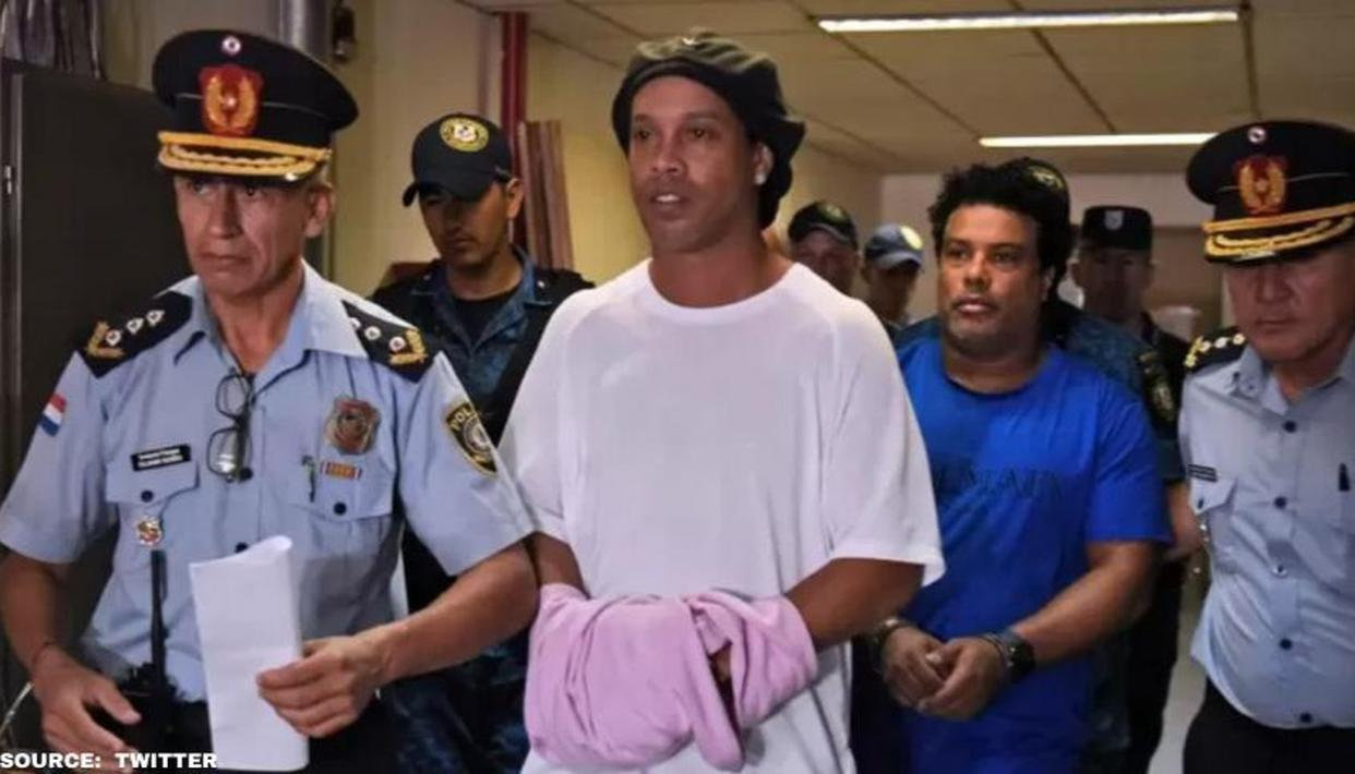 First Footage Of Ronaldinho Playing Prison Futsal Has Been Released