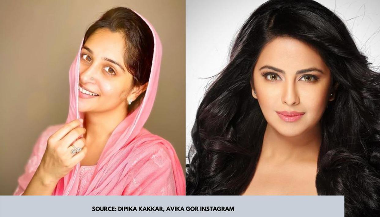 'Sasural Simar Ka' actors Avika Gor and Dipika Kakar have a nostalgic virtual reunion - Republic World