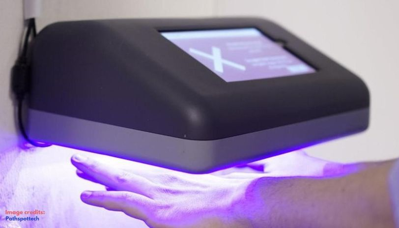 Hand scanner can detect viruses