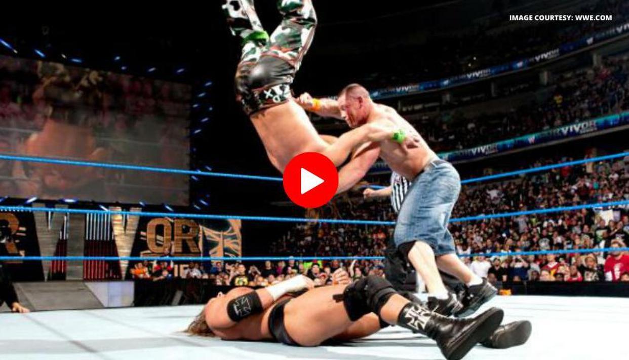 John Cena beats HHH, Shawn Michaels to retain WWE title at Survivor Series 2009: Watch - Republic World