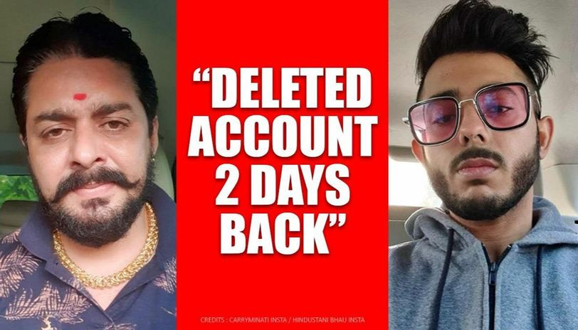Did Hindustani Bhau delete TikTok account in support of CarryMinati? Here's the truth