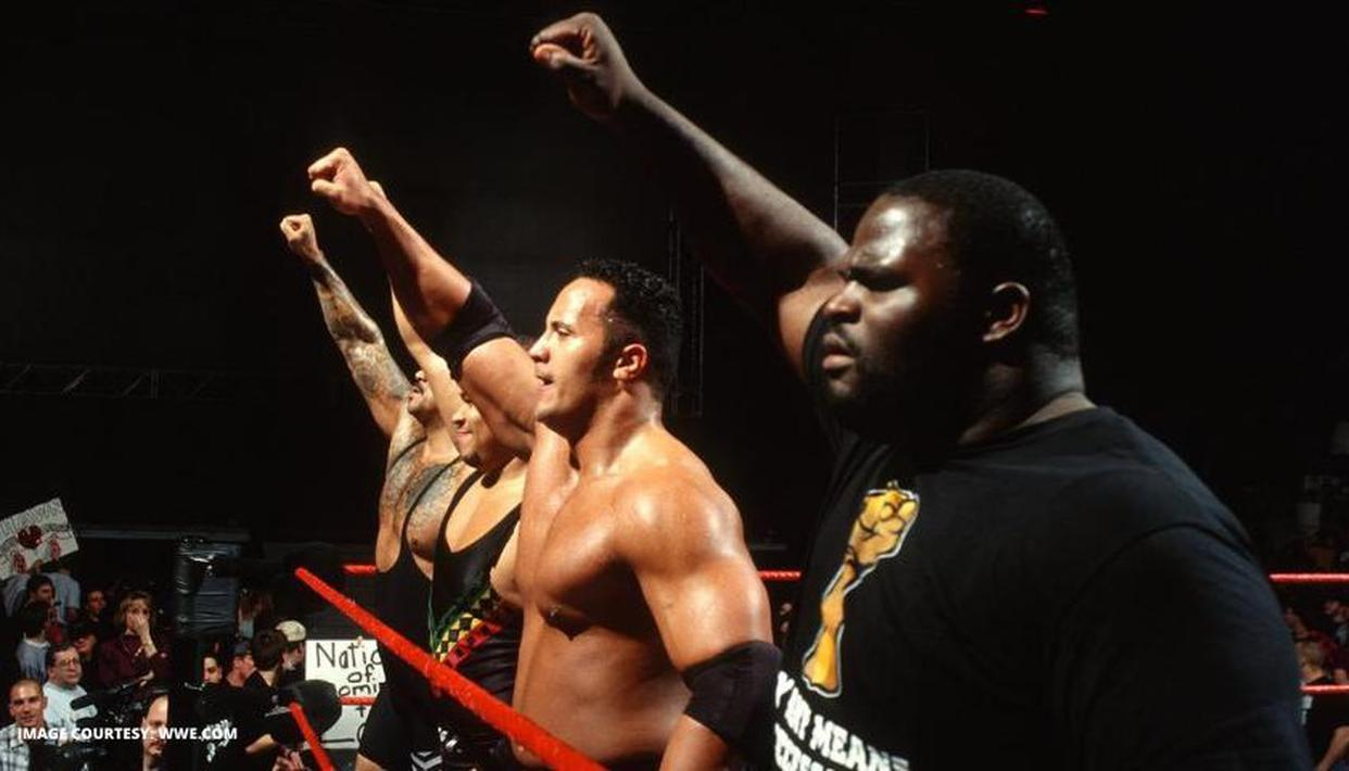 The Rock joined 'The Nation of Domination' OTD 23 years ago in an iconic storyline - Republic World