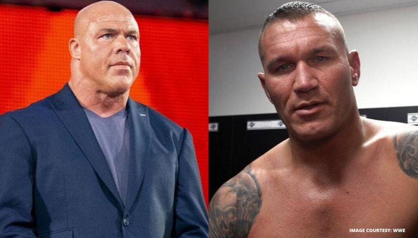 Kurt Angle and Randy Orton