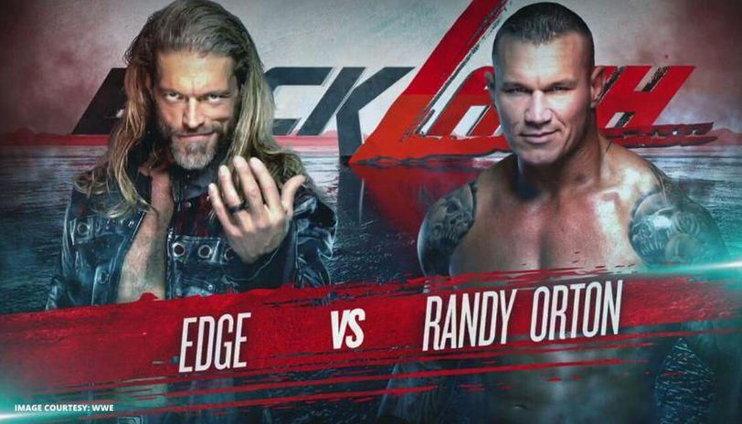 edge vs Randy Orton