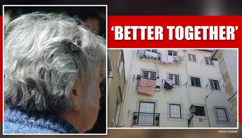 Coronavirus:Three elderly women in fear of loneliness decide to Quarantine together