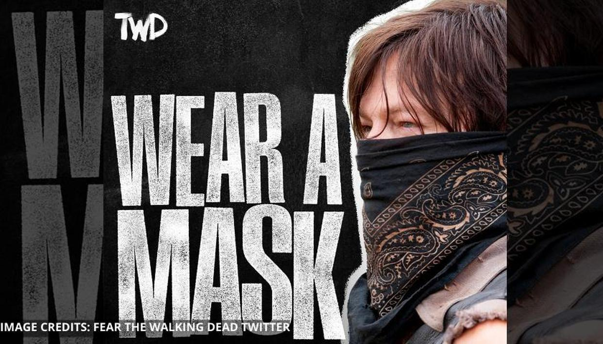 'The Walking Dead' universe urges fans to 'Wear A Mask' with new posters; See here - Republic World
