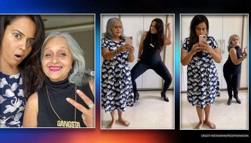 Sameera Reddy's mother-in-law steals her thunder as they ace Flip the Switch challenge