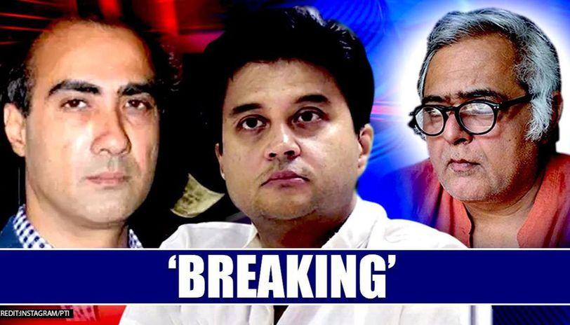 Jyotiraditya Scindia resigns: Ranvir Shorey has 'breaking' news, Hansal Mehta also reacts