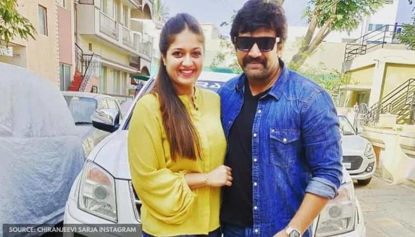 Chiranjeevi Sarja And Wife Meghana Raj S This Old Instagram Post Will Leave You Teary Eyed Republic World
