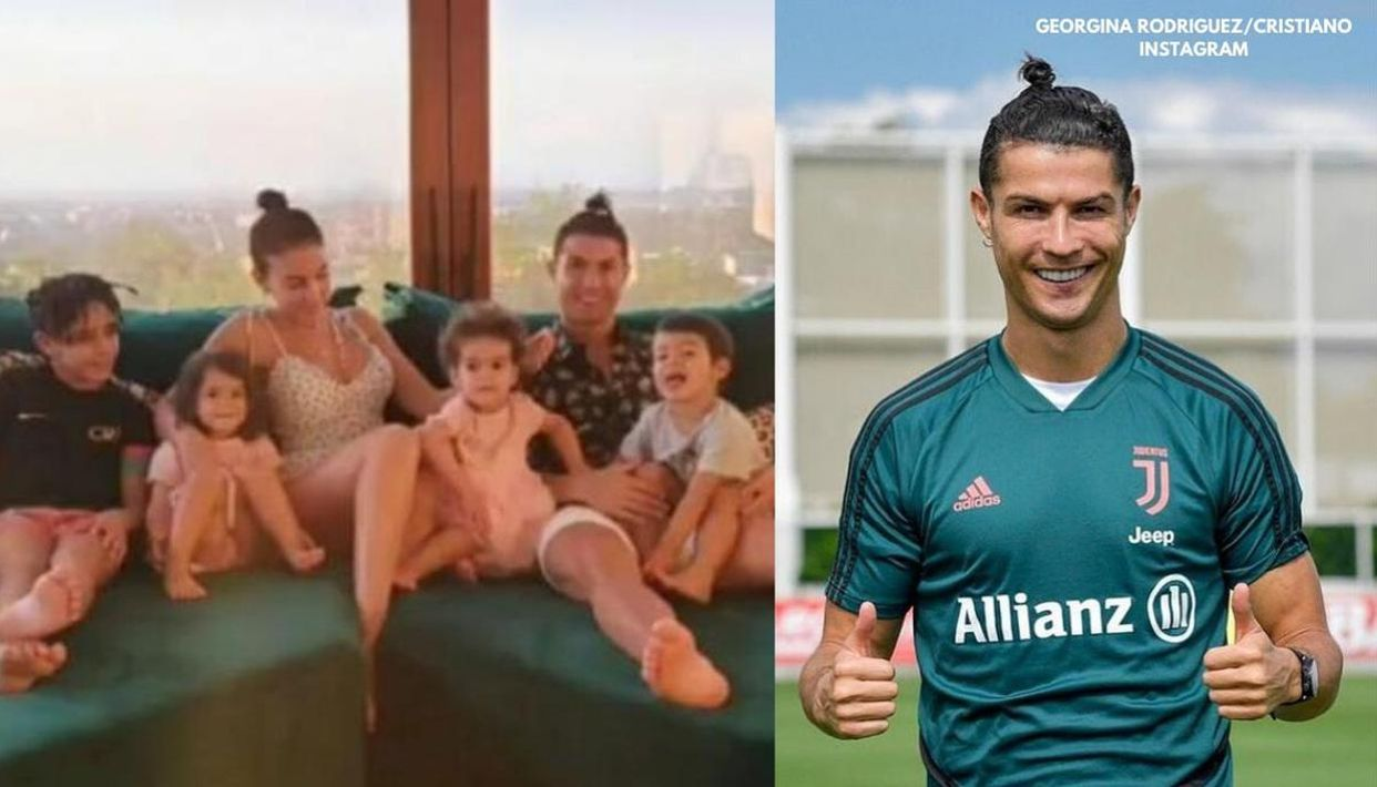 Cristiano Ronaldo Jr S New Braided Hairstyle Resembles Father Cristiano Ronaldo S Look