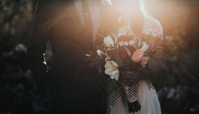 Coronavirus pandemic: Couple ties knot in Indonesia with sanitizers and temperature checks