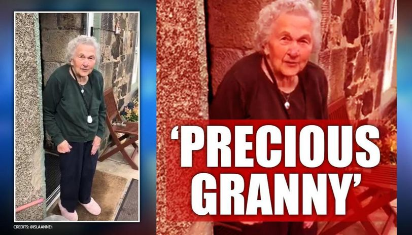 Coronavirus: 93 year old granny sends adorable message to her family