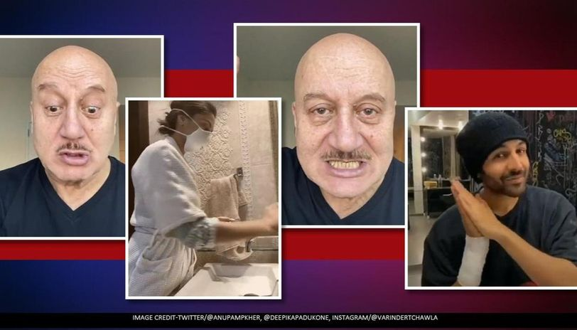 Anupam Kher has relatable take on handwash challenges & it will leave you in splits