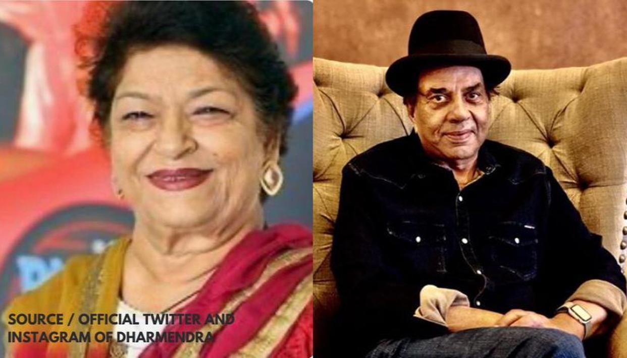 Saroj Khan passes away: Dharmendra pens down emotional tribute for the late choreographer - Republic World