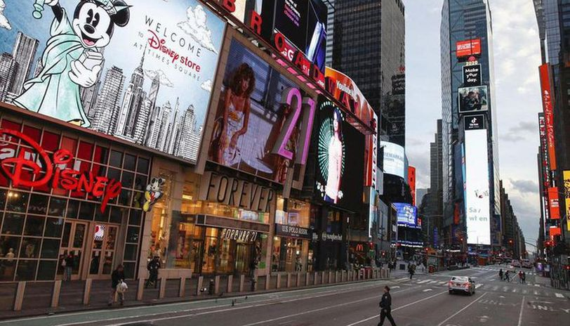 New York makes masks mandatory in public spaces as coronavirus grips US