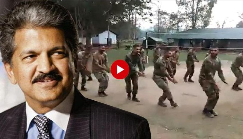 This video of soldiers performing Garba gets Anand
