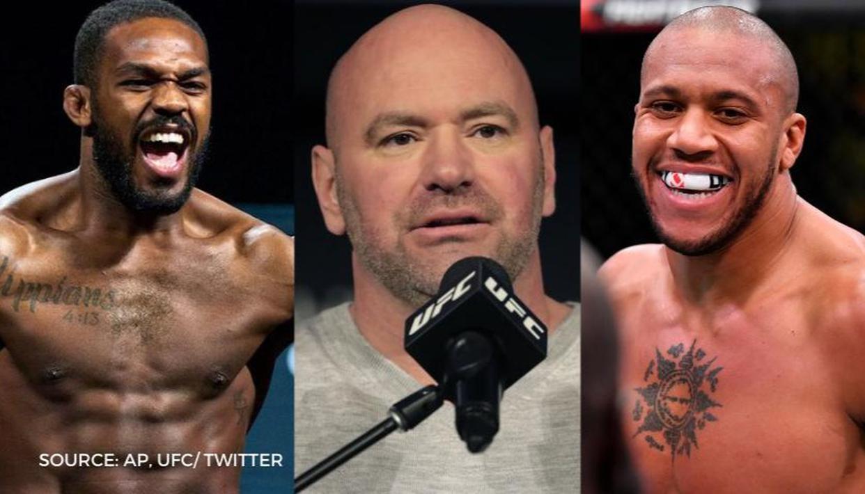 Dana White, Jon Jones criticise lacklustre Gane vs Rozenstruik bout at UFC Fight Night 186