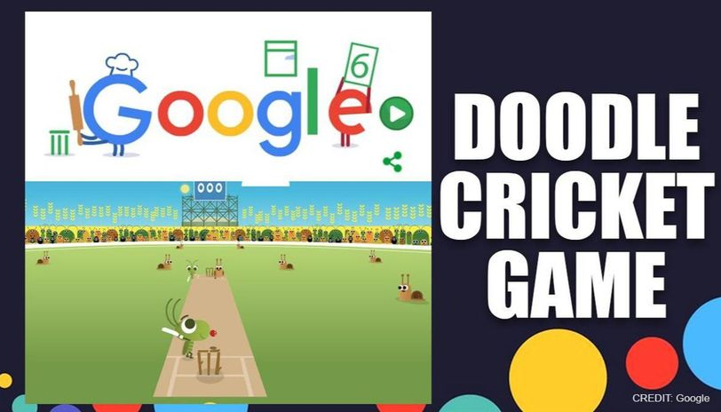 google doodle brings back cricket game to help people escape boredom amid lockdown google doodle brings back cricket game