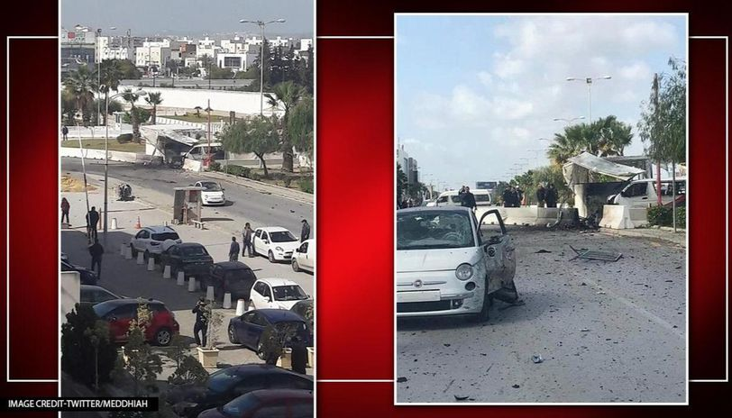 Suicide bomber attacks US embassy in Tunisia, 5 security personnel killed